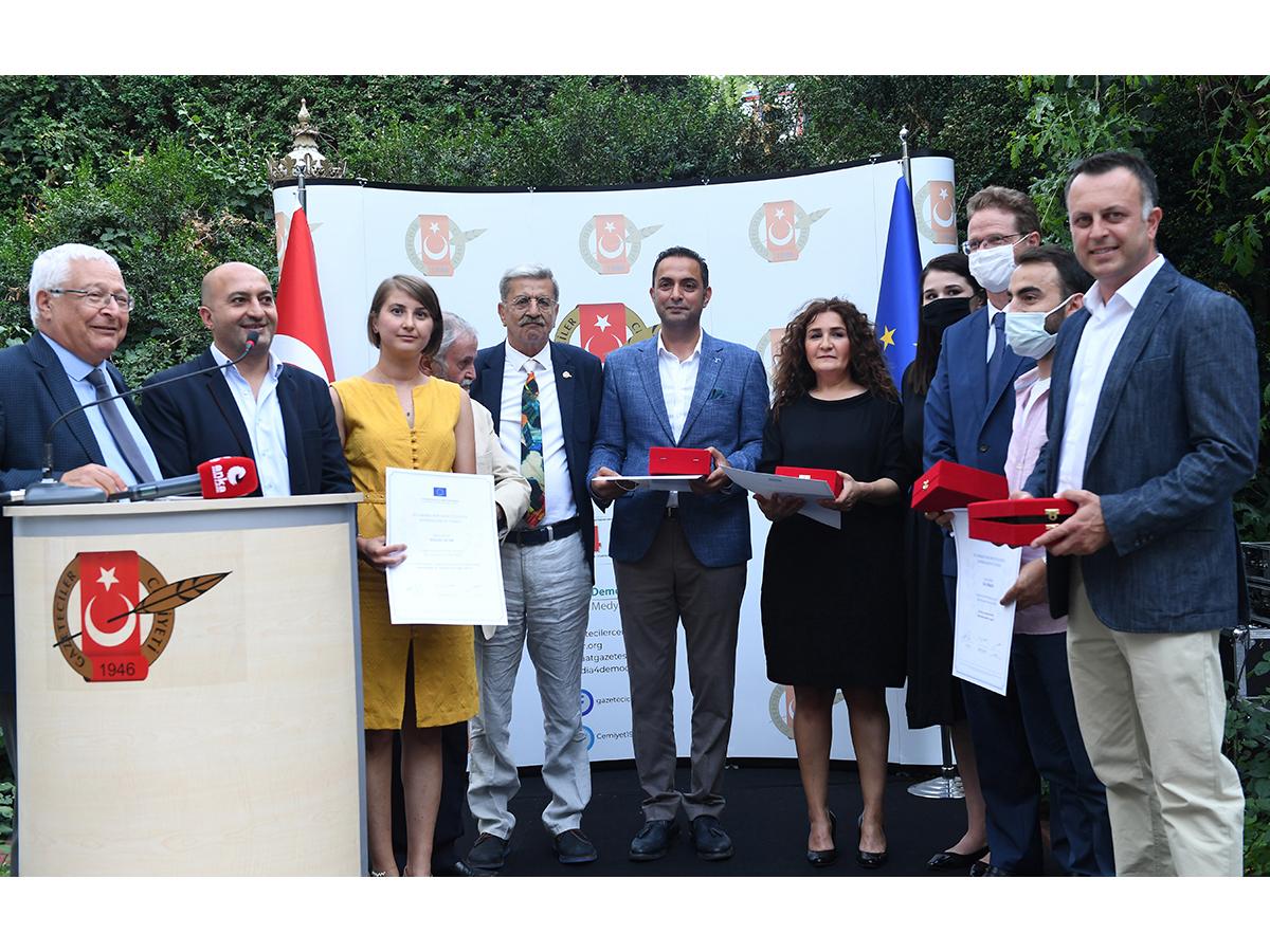 EU Awards for 2021 Announced in Turkey
