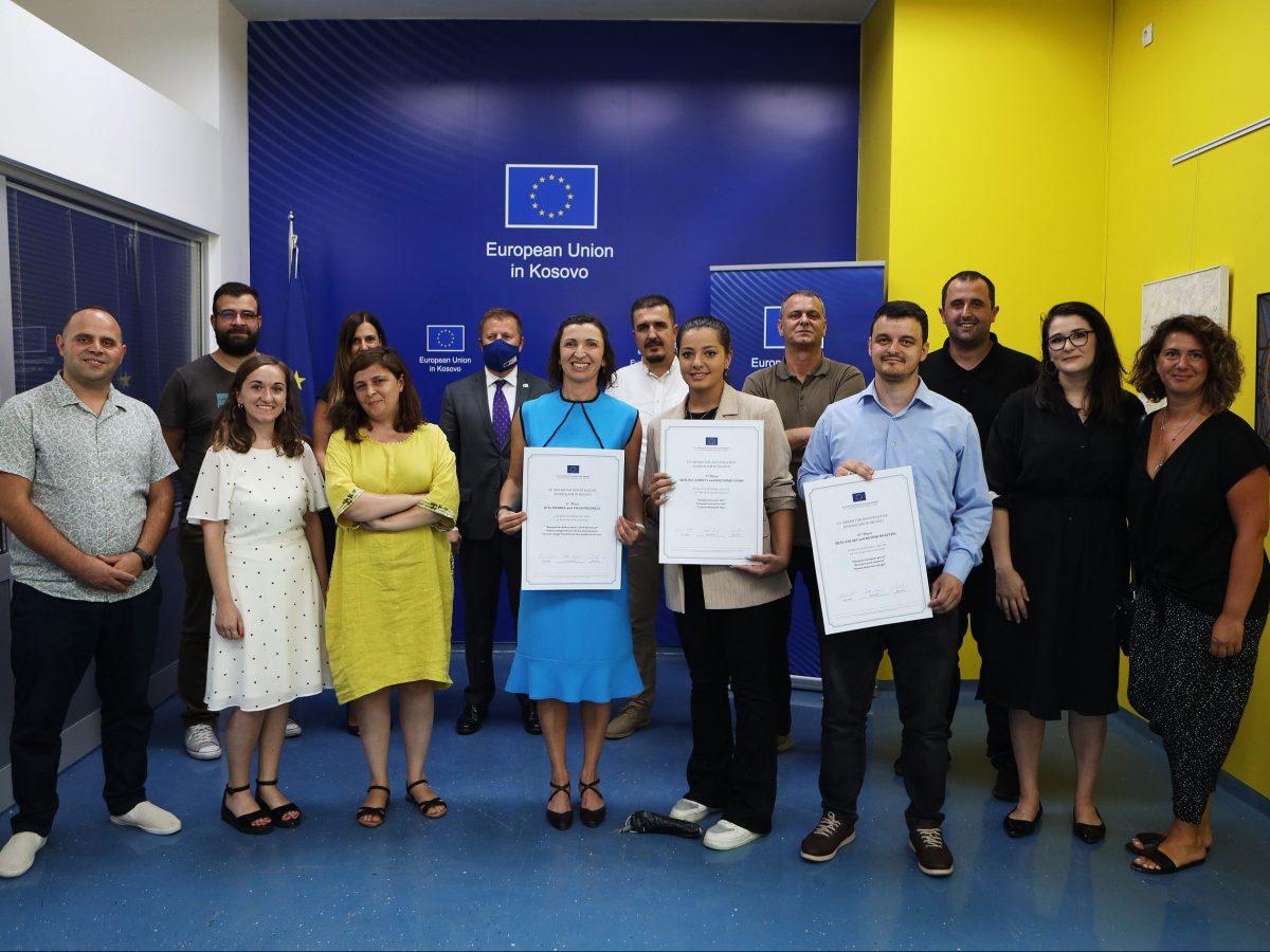 EU Awards for Investigative Journalism Announced in Kosovo