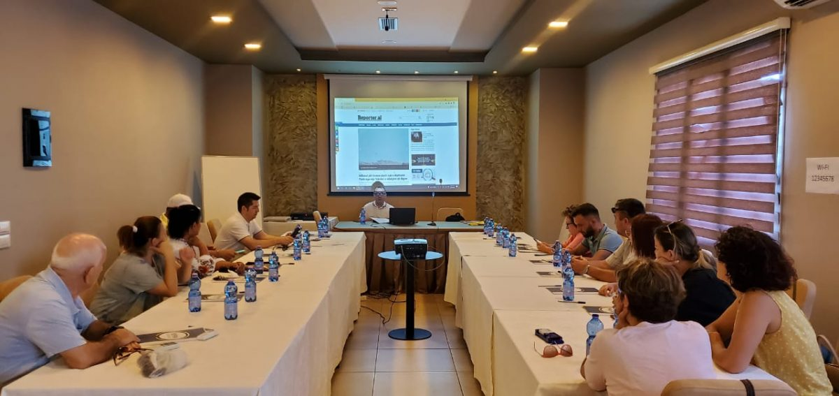 BIRN Albania Holds Regional Info Sessions with Civil Society, Journalists