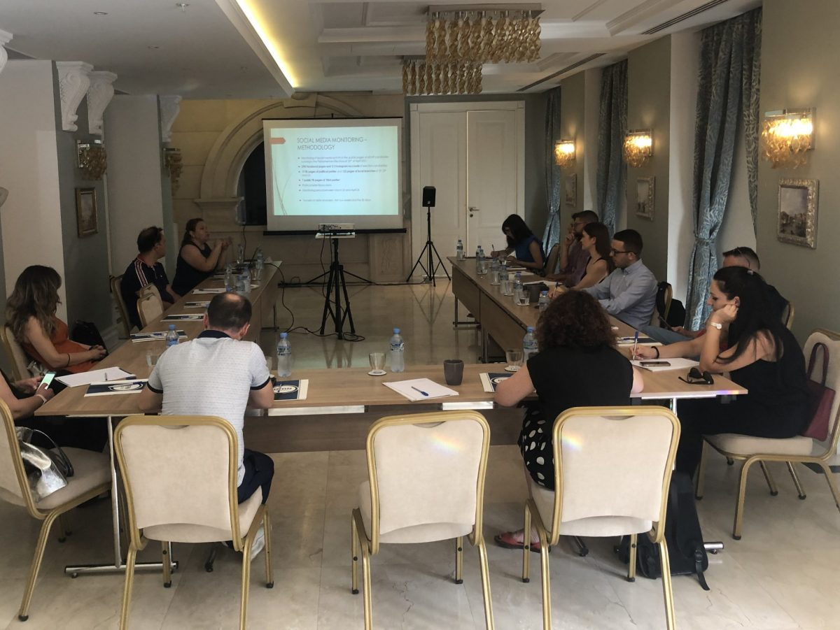 BIRN Albania Presents Its Social Media Research Findings
