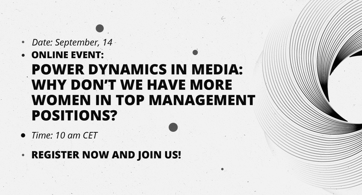 Platform B: Power Dynamics in Media: Why Don't We Have More Women in Top Management Positions?